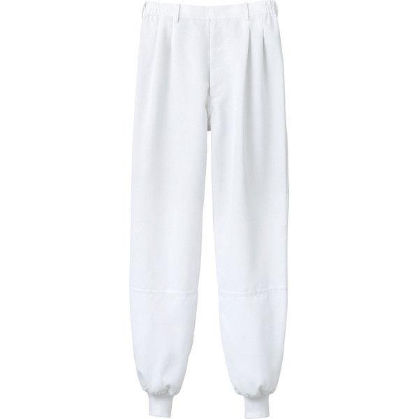 住商モンブラン MONTBLANC(モンブラン) パンツ 兼用 エコ 裾フライス 白 3L 7-471CB(直送品)