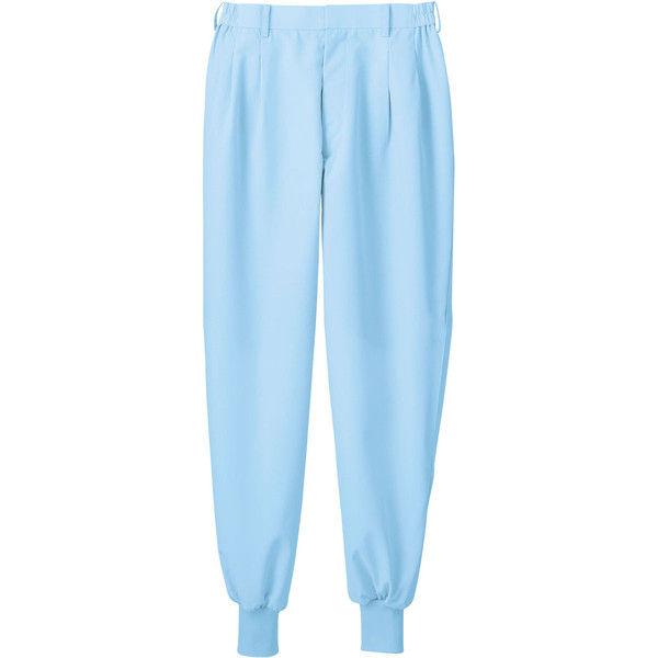 住商モンブラン MONTBLANC(モンブラン) パンツ 兼用 エコ 裾フライス ブルー LL 7-522(直送品)