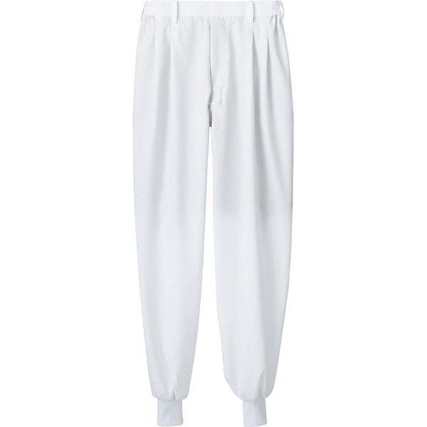 住商モンブラン MONTBLANC(モンブラン) パンツ 兼用 裾フライス 白 3L 7-531(直送品)