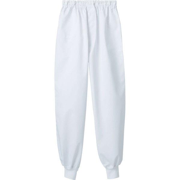 住商モンブラン MONTBLANC(モンブラン) パンツ 兼用 裾フライス 白 5L 7-559(直送品)