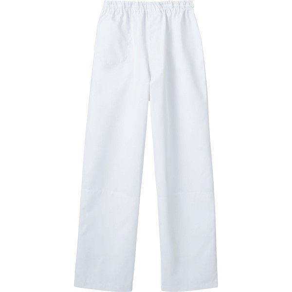 住商モンブラン MONTBLANC(モンブラン) パンツ 兼用 裾インナー付 白 4L 7-591(直送品)