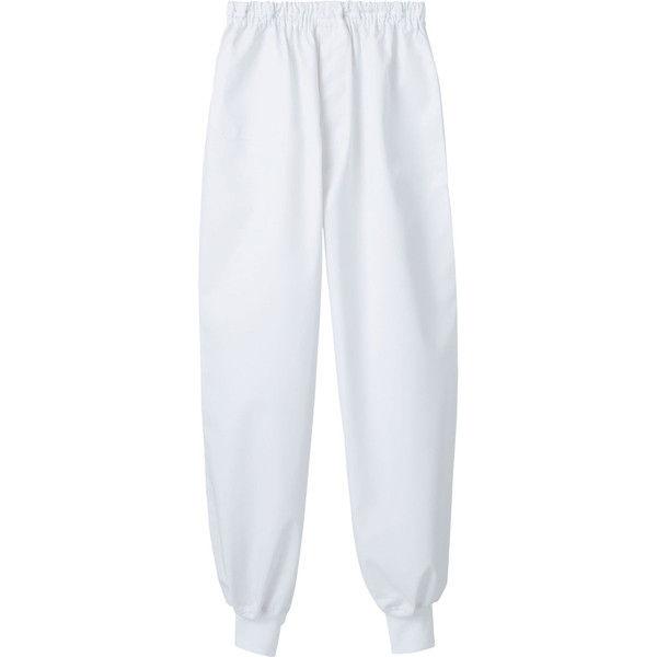 住商モンブラン MONTBLANC(モンブラン) パンツ 兼用 裾フライス 白 4L 7-599(直送品)