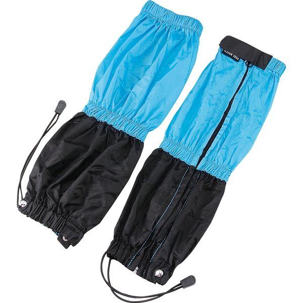 パール金属 キャプテンスタッグ FEEL BOSCO スパッツ ロング ブルー&ブラック M-9835 (直送品)