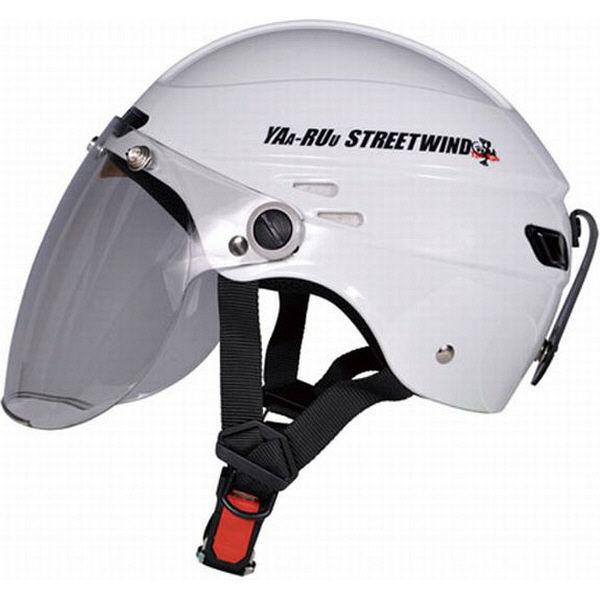 TNK工業 STR-Z JT ヘルメット パールホワイト FREE(58-59cm) 510960 (直送品)