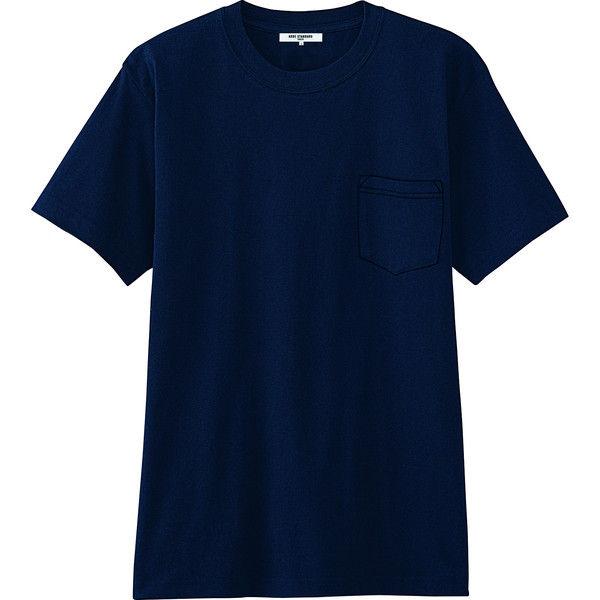 チトセ ポケットTシャツ AS8545_C-5ネイビー_L(取寄品)