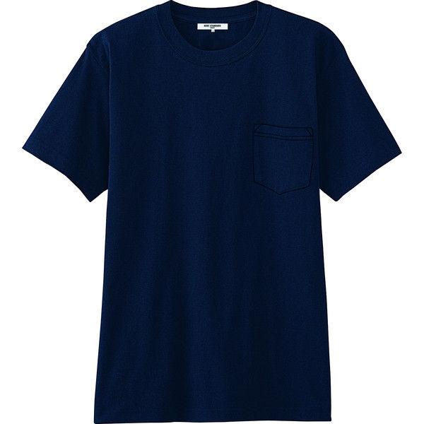 チトセ ポケットTシャツ AS8545_C-5ネイビー_LL(取寄品)