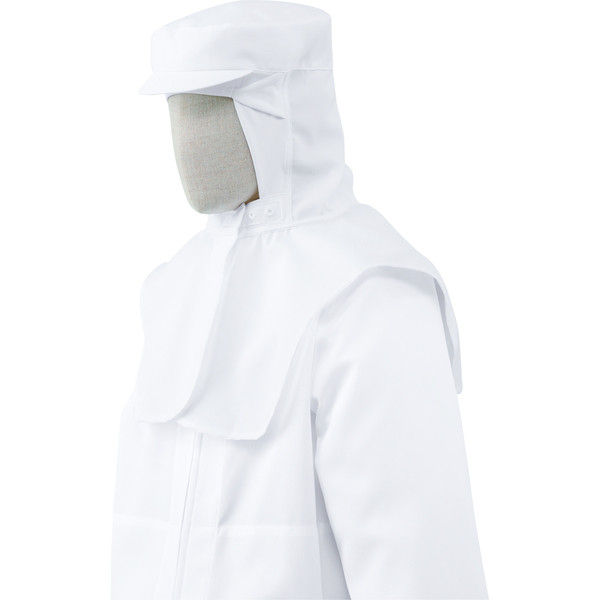 チトセ 工場帽 NO8522_C-1ホワイト_LL(取寄品)