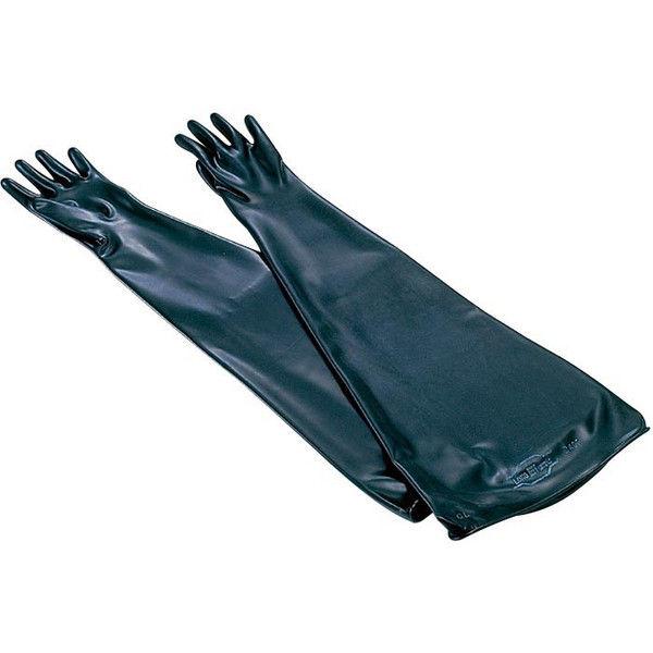 ケニス グローブボックス用手袋 ネオプレン 薄手 31550105(直送品)