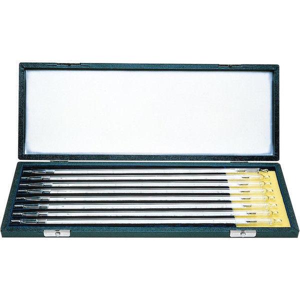 ケニス 標準温度計 棒状 8本セット(箱入) 33100548 1箱(8本入)(直送品)
