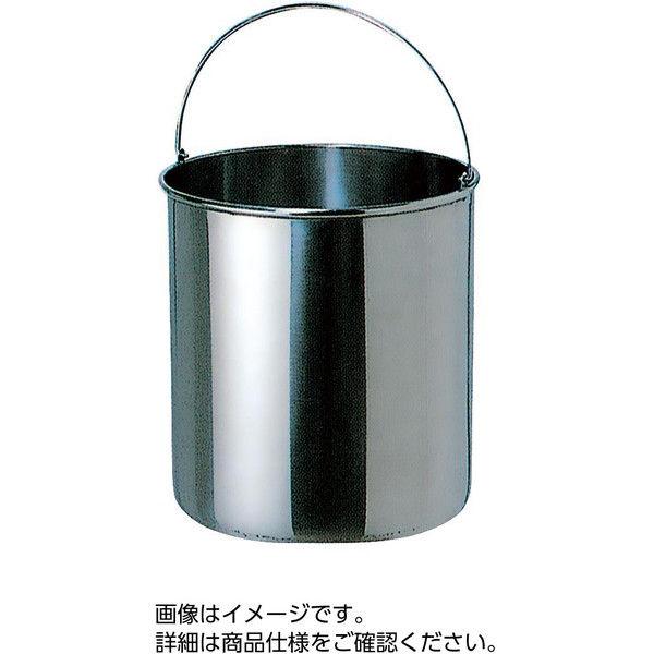 ケニス ステンレス滅菌缶 300φ×400mm 33300545(直送品)