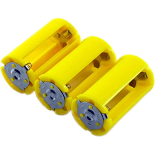 富田刃物 仁作 電池スペイサー AAx3>D(エーエーエックス) 3PCS 6001 (直送品)
