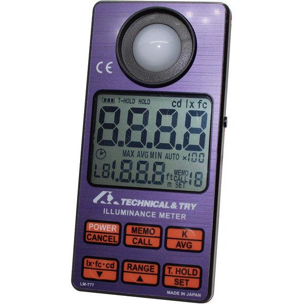 ケニス デジタル照度計 LM-777 31160476(直送品)