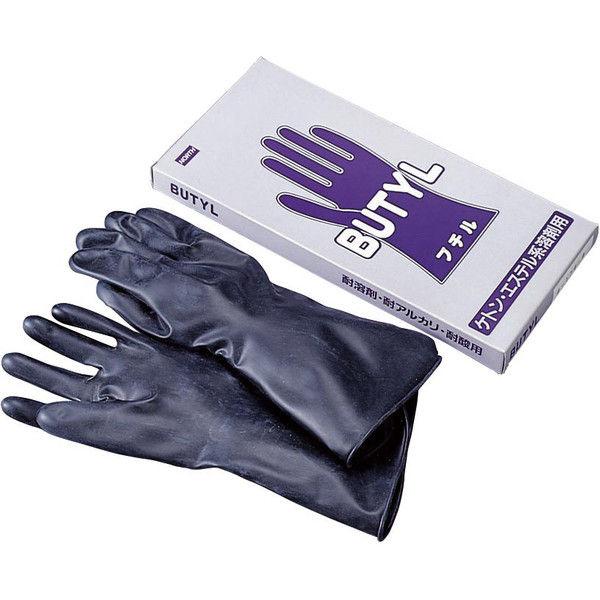 ブチル手袋 B-174-8 M 31630313 クレトイシ(直送品)