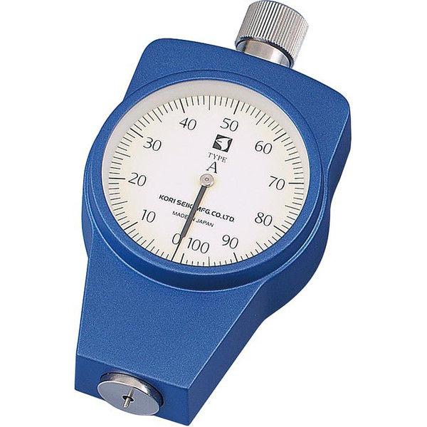 ケニス ゴムプラスチック硬度計 KR-24A(置針型) 33120931(直送品)