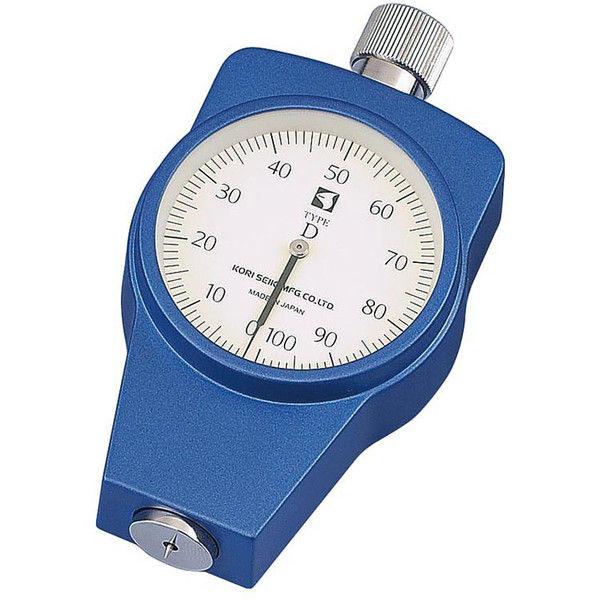 ケニス ゴムプラスチック硬度計 KR-15D(標準型) 33120932(直送品)