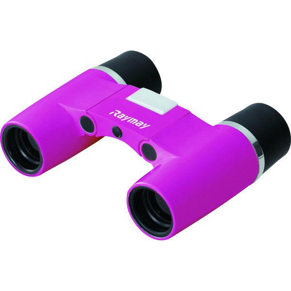 レイメイ藤井 6×18 フリーフォーカス双眼鏡 倍率6倍 ピンク RXB374P (直送品)