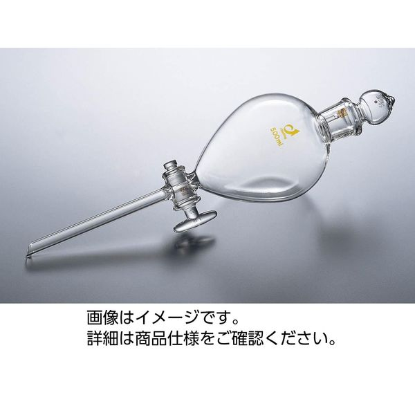 ケニス 丸型分液ロート(普通摺合) 100mL 33410040(直送品)