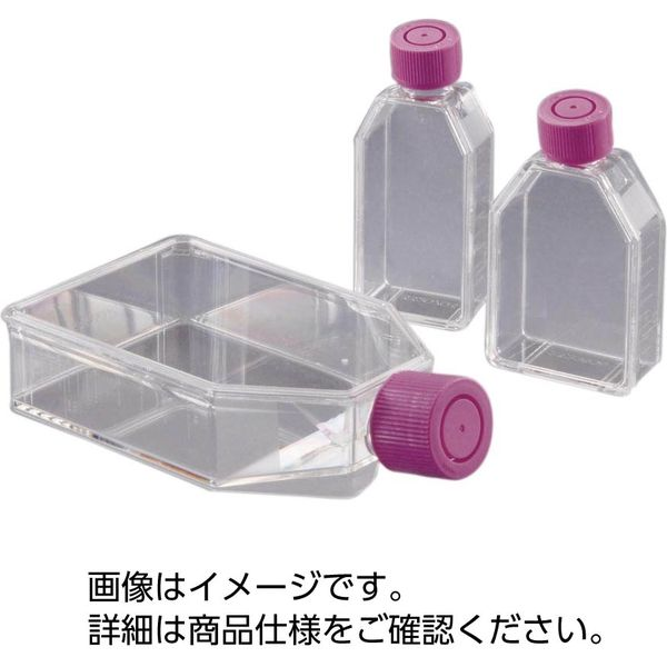 AGCテクノグラス 組織培養用フラスコ(IWAKI) 3123-MYP 33610422 1箱(25個入)(直送品)