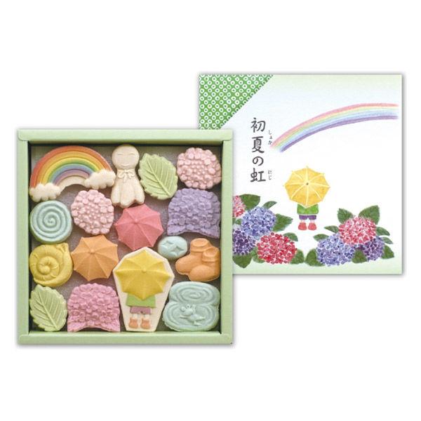 ばいこう堂 初夏の虹小箱 伊勢丹の贈り物