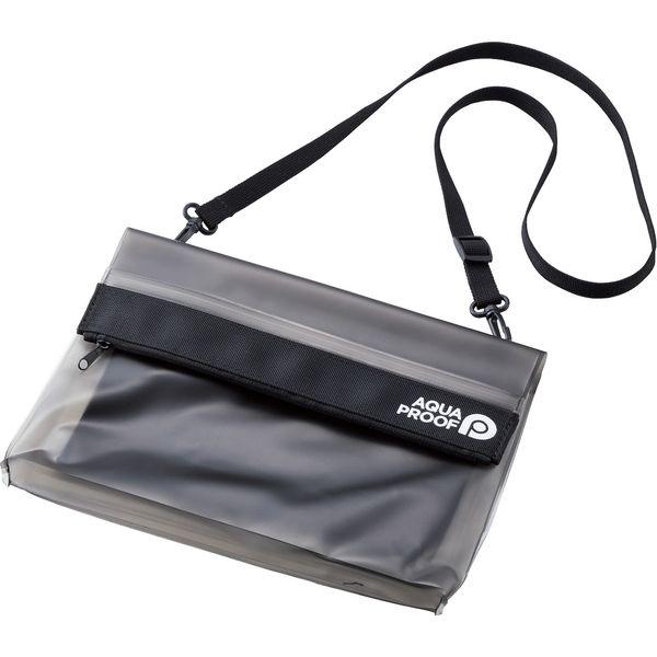 防水・防塵バッグ サコッシュ ブラック