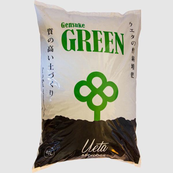 【土壌改良剤】上田微生物 げんすけグリーン 40L AS-02 1セット(2袋入)(直送品)