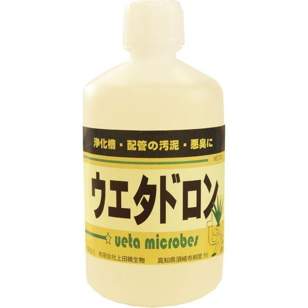 【汚泥・悪臭分解酵素剤】上田微生物 ウエタドロン 1L AS-07 1セット(2個入)(直送品)