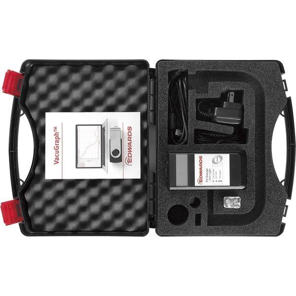 エドワーズ ポータブルハンドヘルド圧力計 P3ゲージ 付属キット 33120436(直送品)