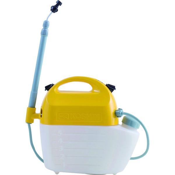 工進 肩掛式 乾電池 除草剤用 噴霧器 5L GT-5HSR(直送品)
