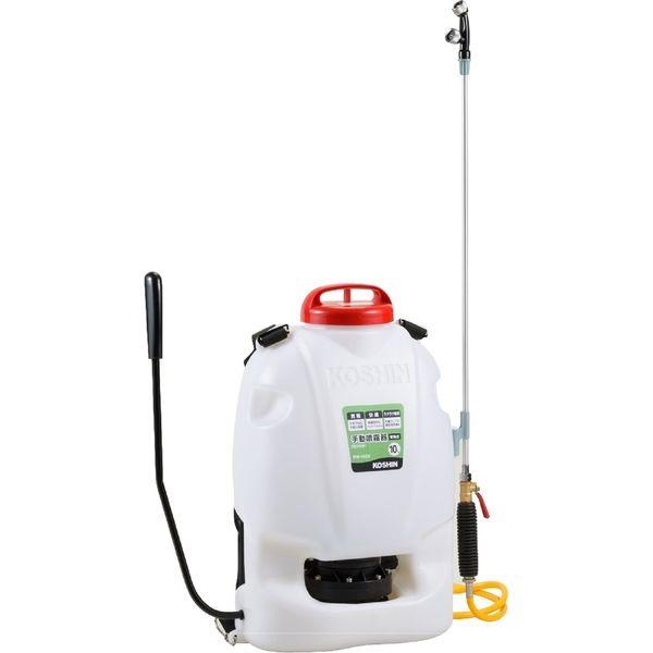 工進 背負い式 手動 噴霧器 10L RW-10DX(直送品)
