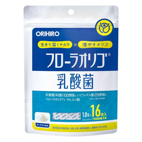 オリヒロ フローラオリゴ乳酸菌 16本 1個