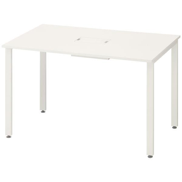 イトーキ サリダMTテーブル 長形 ホワイト 幅1200×奥行750×高さ720mm 1台(2梱包)
