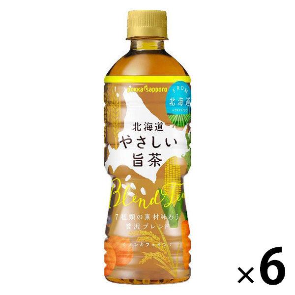 北海道 やさしい旨茶 525ml 6本