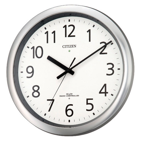 シチズンオフィス電波掛時計 8MY437