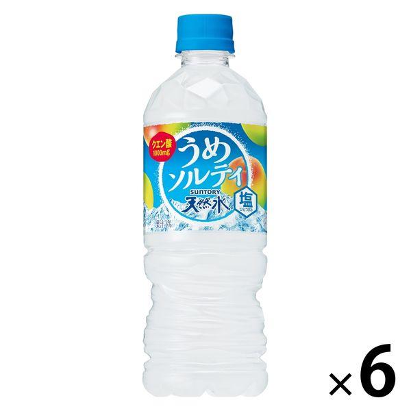 天然水 うめソルティ 540ml 6本