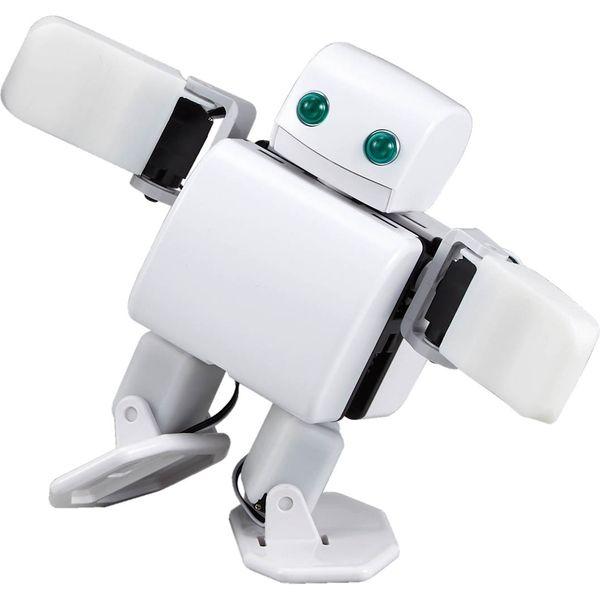 【プログラミング学習キット】ケニス 2足歩行プログラミングロボット PLEN2 mini 組立キット 1個(直送品)
