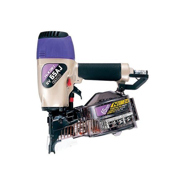工機ホールディングス ロール釘打機 ケース付 NV65AJ(直送品)