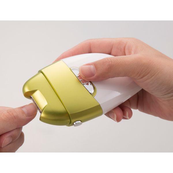 電動爪削り&角質ケアローラー 幅190mm 奥行き52mm 高さ166mm(直送品)