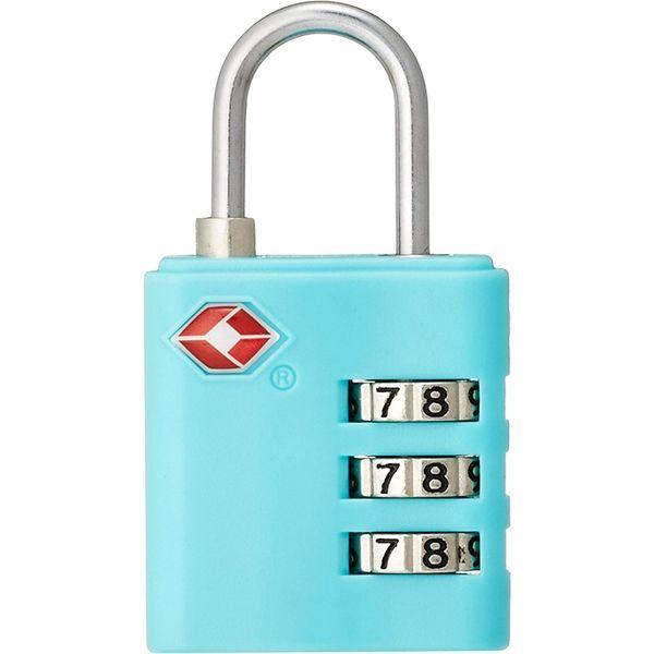 コンサイス TSA3桁ダイヤルカラーロックTL-05T ブルー 299745(直送品)