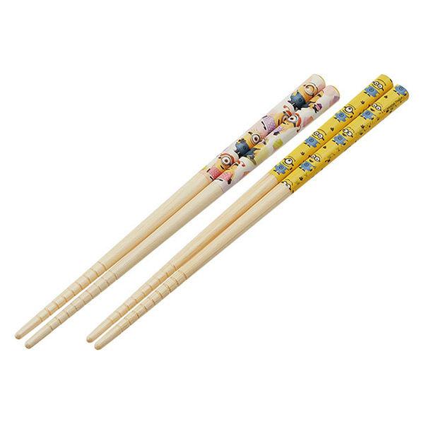竹安全箸18.0cm(2P)ミニオン