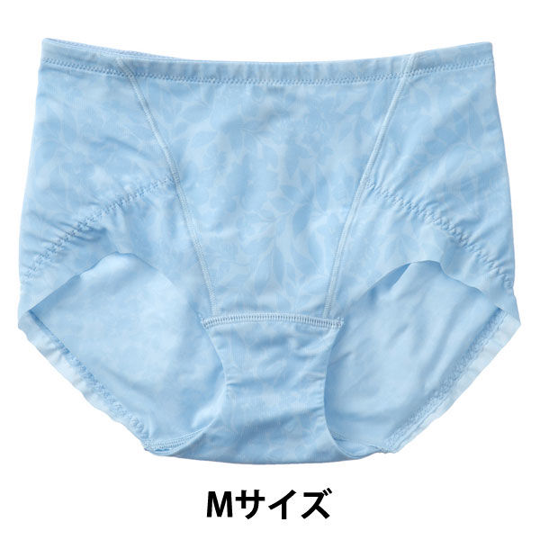 はっきり上げ尻パンツショート丈 水色 M