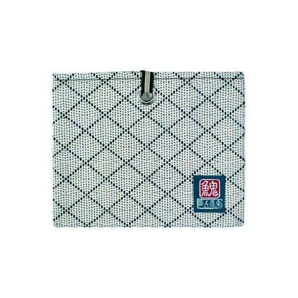 イトー 武州織道着刺子ペンケース袋 白 949299(直送品)