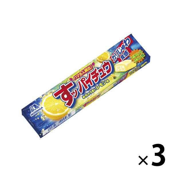 すッパイチュウ<すっぱいレモン味>3個