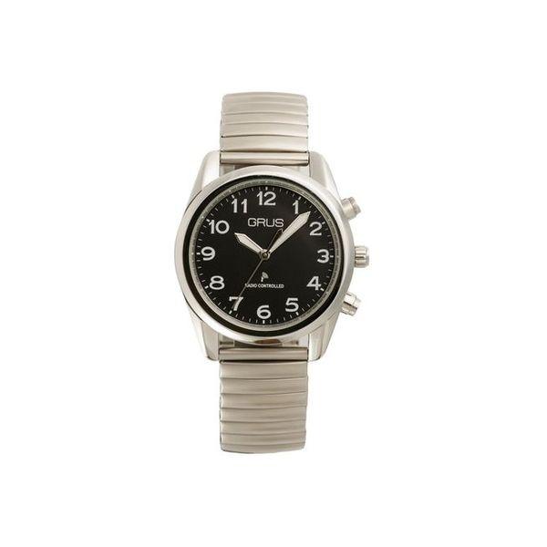 インテック グルス ボイス電波腕時計 GRS003-02(直送品)