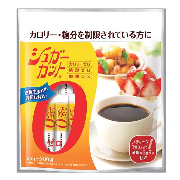 浅田飴 シュガーカットゼロ顆粒80包 1袋