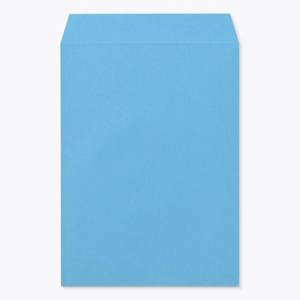 山櫻 Kカラー封筒 角4 Kブルー 85 YAMA-5029-0054 1箱(500枚)(直送品)