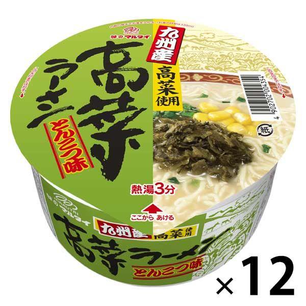 マルタイ九州産高菜ラーメンとんこつ味12