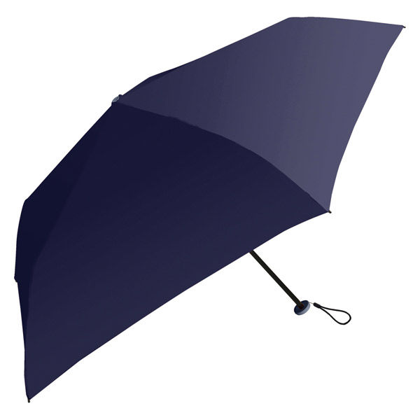 晴雨兼用 傘 軽量ネイビー 折りたたみ傘