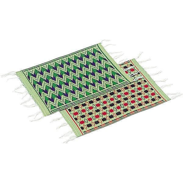 萩原 国産い草雑貨 テーブルセンター(アソート) 約21×30cm 110600117 1セット(2枚組)(直送品)