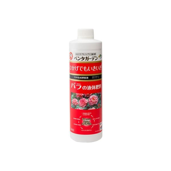 コスモ石油 ペンタガーデン バラの液体肥料 450ml 4560194954900 1セット(3本入)(直送品)