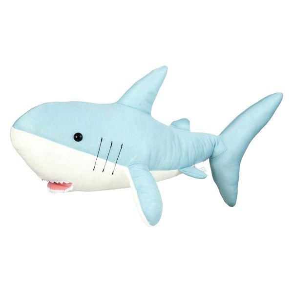 ひんやりぬいぐるみ サメ 60CM